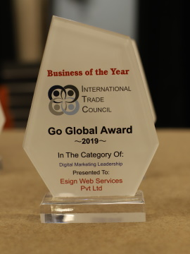 International Trade Council's Go Global Awards - Premier Awards for those involved with international trade, exporting, importing or supporting activities.